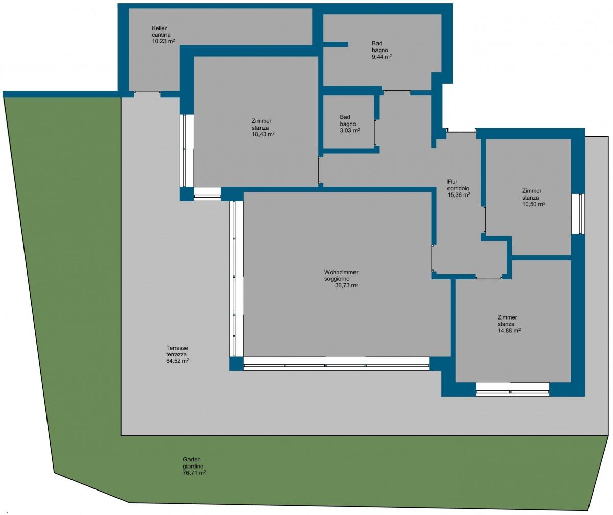 Mals - Neue 4-Zimmer Wohnung mit Garten in sonniger Lage!